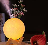 abordables -Diffuseur d'arôme à ultrasons huiles essentielles humidificateur d'air USB lampe pleine lune veilleuse bureau brume purificateur 880 ml