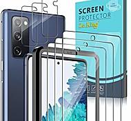 economico -telefono Proteggi Schermo Samsung S21 S21 Plus S21 Ultra S20 S20 Plus Vetro temperato 3 pezzi Alta definizione (HD) Ultra sottile Anti-graffi Proteggi-schermo frontale Appendini per cellulare