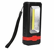 abordables -Lampe de travail portable à LED Lampe de poche de mode COB LED Solaire Lampe de travail rechargeable Aimant Lampe torche pour camping randonnée (rouge)
