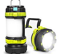 abordables -lanterne de camping rechargeable, lampes de camping avec 800lm, 6 modes d'éclairage, banque d'alimentation 3800mah, ipx4 étanche, parfait pour le camping ouragan léger, urgence, randonnée, extérieur