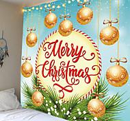 abordables -fête de noël tapisserie murale art décor couverture rideau pique-nique table tissu suspendu maison chambre salon dortoir décoration noël suspendu boule branche de pin