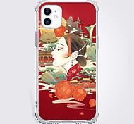economico -Stile cinese Astuccio Per Mela iPhone 12 iPhone 11 iPhone 12 Pro Max Design unico Custodia protettiva e protezione per lo schermo Per retro TPU