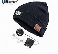 abordables -Bonnet tricoté unisexe à 4 LED pour le camping, les grillades, la réparation automobile, le jogging, la marche ou le travail des bricoleurs, bonnet à led mains libres
