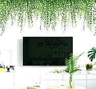 abordables -paysage / floral / botanique stickers muraux stickers muraux 3d stickers muraux décoratifs, pvc décoration de la maison sticker mural décoration murale 1 pc 64 * 40 cm