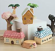 abordables -européen mini micro paysage maison résine décoration créative décoration de la maison boutique de cadeaux accessoires de tir
