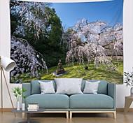 abordables -tapisserie murale art décor couverture rideau pique-nique nappe suspendu maison chambre salon dortoir décoration polyester moderne arbre pierre statue