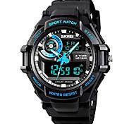 economico -orologio digitale da uomo orologio sportivo da esterno 50 mm cronografo impermeabile orologio da shock militare per uomo