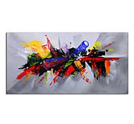 abordables -grande image de couleur rouge 100% peint à la main peinture à l'huile abstraite moderne sur toile pour salon art mural décoration de la maison cadeau toile roulée sans cadre non étiré
