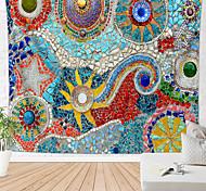 abordables -mandala bohème mur tapisserie pierres vitrail art décor couverture rideau suspendu maison chambre salon dortoir décoration boho hippie indien