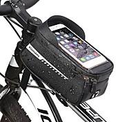 abordables -Sac Cadre Velo 6.5 pouce Cyclisme pour Téléphones de taille similaire Noir Vélo tout terrain / VTT Vélo de Route Cyclisme / Vélo