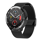 abordables -TM16S Smartwatch Montre Connectée pour Android iOS Samsung Apple Xiaomi Bluetooth 1.28 pouce Taille de l'écran IP 67 Niveau imperméable Imperméable Ecran Tactile Moniteur de Fréquence Cardiaque