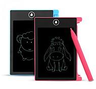 abordables -hyd-4401 4,4 pouces tablette d'écriture lcd dessin numérique tablette à écran lcd portable tampons d'écriture électronique bloc-notes d'art avec stylo pour enfants fille garçon anniversaire cadeau de