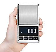 abordables -100/200/300/500 / 1000g Balance de bijoux électronique Balance de gramme 0.01 précision pour or précision mini balance de poche balance de poids de cuisine