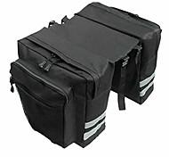 economico -borse laterali per bici borse per biciclette alimentari impermeabili con cinghie regolabili ganci maniglia per il trasporto tasche grandi