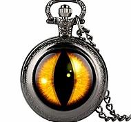 abordables -montre de poche pour homme noir à chaîne fine, montre de poche à quartz à motif d'élève vertical jaune pour garçon, montres de poche numériques arabes pour adolescent