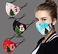 abordables -led noël lueur masque facial bouclier buccal lumineux avec filtre câble usb lumière colorée pour cadeau de noël intime vacances de fête de noël