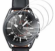 economico -[Confezione da 4] pellicola proteggi schermo compatibile per samsung galaxy watch 3 41 mm, pellicola proteggi schermo in vetro temperato impermeabile per galaxy watch 3 41 mm