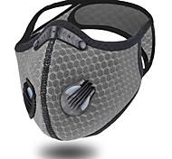 economico -2 pezzi maschera da ciclismo maschera antipolvere pm2.5 sport da corsa all'aperto maschera da bicicletta per uomo e donna