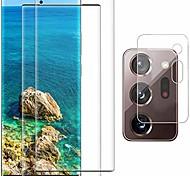 abordables -Pack 2 Protecteur d'écran Galaxy Note 20 Ultra + 1 Pack Protecteur d'objectif d'appareil photo, Film de verre trempé d'empreintes digitales pour Samsung Galaxy Note 20 Ultra