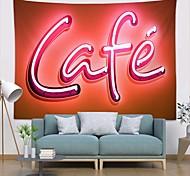 abordables -tapisserie murale art déco couverture rideau pique-nique table tissu suspendu maison chambre salon dortoir décoration polyester fibre nature morte moderne néon