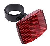 abordables -vélo vélo réflecteur réflecteur arrière lumière de sécurité lentille de sécurité (arrière rouge)