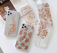 economico -telefono Custodia Per Apple Per retro iPhone 12 Pro Max 11 SE 2020 X XR XS Max 8 7 Resistente agli urti Transparente Geometrica Effetto marmo TPU