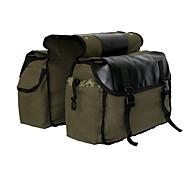 economico -Borse a tracolla in nylon a doppia borsa laterale per bicicletta Portapacchi posteriore per moto Borsa da sella - marrone