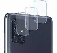 abordables -protecteur d'objectif d'appareil photo compatible galaxy a71, [pack de 3] appareil photo transparent transparent ultra mince protecteur d'objectif d'appareil photo haute définition trempé pour samsung