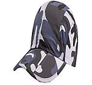 abordables -femmes hommes casquette de camouflage casquette de baseball anti-uv chapeau de soleil respirant sec rapidement pêche randonnée alpinisme casquette portable pliable - gris