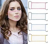 economico -2 maschere completamente trasparenti con maschera per sordi maschere antipolvere per adulti
