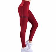 abordables -2019 Nouveau Legging Slim Compression Anti-Cellulite (Rouge, L)