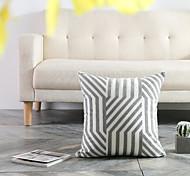 abordables -maison mode simple création originale conception unique côté brodé taie d'oreiller couverture salon chambre canapé housse de coussin