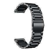 economico -compatibile per cinturini vivoactive 4s, cinturino in metallo in acciaio inossidabile a sgancio rapido da 18 mm compatibile per garmin vivoactive 4s (40 mm), smartwatch vivomove 3s (39 mm), nero