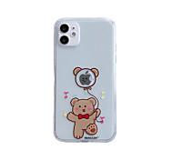 economico -telefono Custodia Per Apple Per retro iPhone 12 Pro Max 11 SE 2020 X XR XS Max 8 7 Resistente agli urti Transparente Fantasia / disegno Cartoni animati Giocare con il logo Apple Transparente TPU