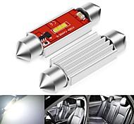 abordables -2 pcs Festoon LED Canbus 12-24V C5W C10W Ampoules 31mm 36mm 39mm 41mm 1860 CSP 1 SMD Voiture Dôme Lumière Aucune Erreur Auto Lampes De Lecture Intérieures
