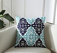 abordables -Housse de coussin géométrie simple mode coton complexe broderie taie d'oreiller couverture salon chambre canapé housse de coussin