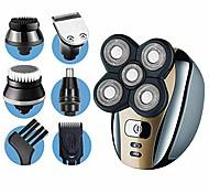 abordables -rasoir électrique dreamme pour hommes Kit de toilettage 5 en 1 pour hommes: rasoirs électriques à barbe à cinq têtes, tondeuse à poils nasaux, rasoirs pour hommes chauves, sans fil et rechargeables