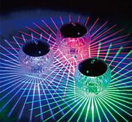 economico -le luci solari esterne hanno condotto le luci esterne luce galleggiante impermeabile ha condotto la luce della discoteca rgb ip68 piscina multi colore che cambia la deriva dell'acqua lampada per