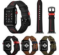 economico -Cinturino intelligente per Apple  iWatch 1 pcs Cinturino di pelle Vera pelle Sostituzione Custodia con cinturino a strappo per Apple Watch Serie 6 / SE / 5/4 44 mm Apple Watch Serie 6 / SE / 5/4 40mm