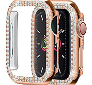 economico -compatibile con apple watch case series 4 5 6 se 40mm, cover protettiva per pc per apple watch se series 6 series 5 series 4 40mm case rose gold