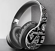 abordables -LITBest 30 Casque sur l'oreille Bluetooth5.0 Stéréo Avec Micro Avec contrôle du volume pour Sport Fitness