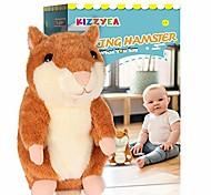 abordables -plus grand hamster parlant - répète ce que vous dites - jouet interactif en peluche en peluche parlant - cadeau amusant pour les filles de 2,3 ans, les bébés, les enfants et les tout-petits