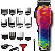 abordables -Barbier professionnel tondeuse à cheveux hommes puissants tondeuse à cheveux électrique sans fil machine de coupe de cheveux outil de coupe de cheveux (120 couleurs)