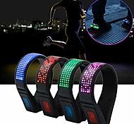 abordables -Clip de sécurité 1 pièces sur la course à pied LED chaussures clip lumières USB charge clip de sécurité lumières course jogging randonnée cyclisme