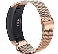 economico -compatibile gear fit2 pro / fit2 band, accessori di ricambio in metallo acciaio inossidabile cinturino per samsung gear fit 2 pro smartwatch sm-r365 / sm-r360 (oro rosa, grande)