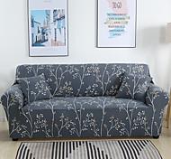 abordables -branche imprimée 1 pièce housse de canapé housse de canapé protecteur de meubles housse extensible douce tissu jacquard spandex super fit pour canapé 1 ~ 4 coussin et canapé en forme de l, facile à