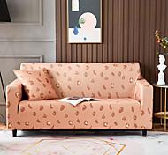 economico -leopardo rosa 1 pezzo copridivano divano copridivano protezione mobili fodera morbida elasticizzata tessuto jacquard spandex super adatta per divano 1 ~ 4 cuscini e divano a forma di l, facile da