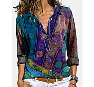 abordables -Femme Sweat à capuche Lignes / Vagues Bloc de Couleur Quotidien Simple Chic de Rue Pulls Capuche Pulls molletonnés Bleu Rouge Jaune