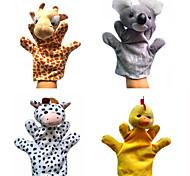 abordables -4 pcs Marionnettes de Doigt Jouet Educatif Marionnette Marionnettes à main Animaux en Peluche Séries animales Koala Canard Interaction parent-enfant PP Pluche 32cm Jeu imaginatif, bas, grands cadeaux