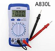 abordables -a830l lcd digital multimeter dc ac voltage diode freguency multifunction volt tester test current voltmeter ampèremètre jauge